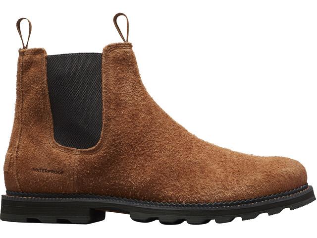 Sorel Madson Chelsea Waterproof Chaussures Homme, elk/coal